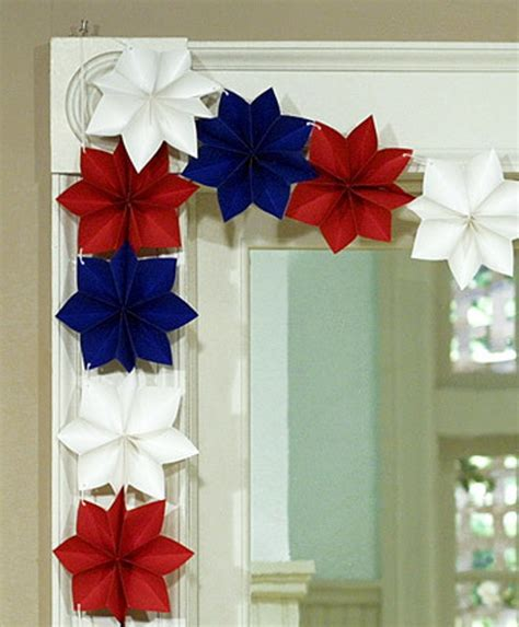 How To Make Decorations With Paper - 19 paper decoration ideas for the 4th of july digsdigs