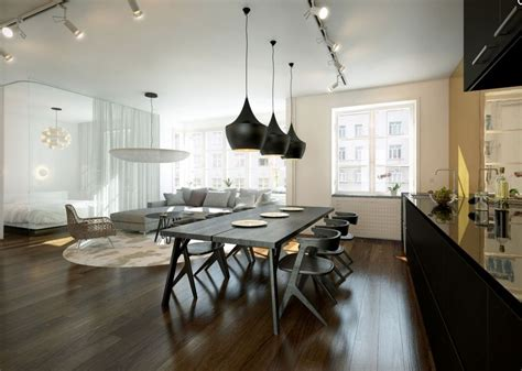 Open Plan Lounge Kitchen Diner Ideas by Chic Open Plan Lounge Kitchen Diner Interior Design Ideas