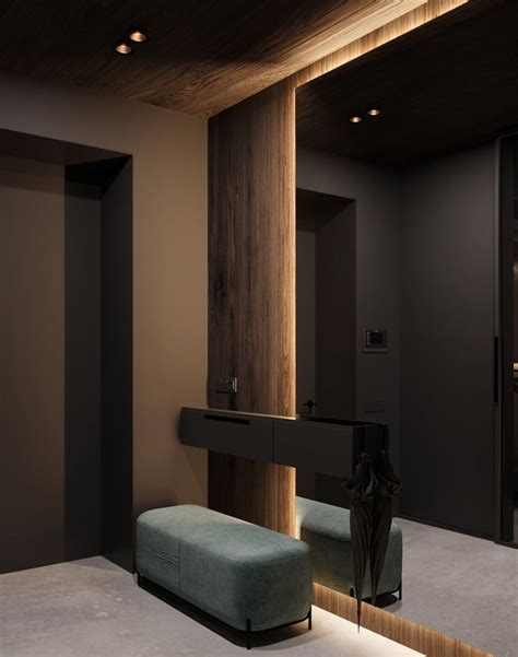 forest house  behance   residential interior