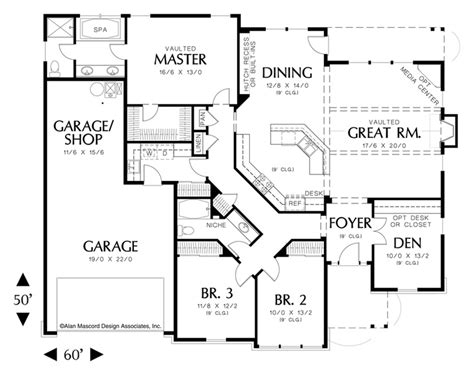 mascord plans mascord house plan 1231