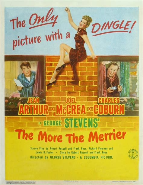 The More The Merrier by 3 Lines About The More The Merrier 1943