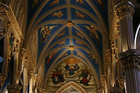 Notre Dame Ceiling by File Und Basilica Of The Sacred Ceiling Jpg