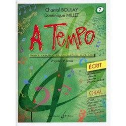 004307474x a tempo partie orale a tempo melody music