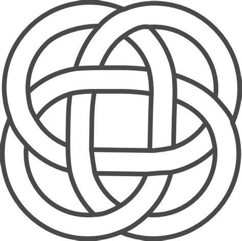 Knot Designs - celtic knot grey clip at clker vector clip
