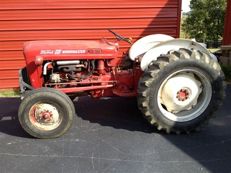 Ford 601 Workmaster by 1959 Ford 601 Workmaster Tractor