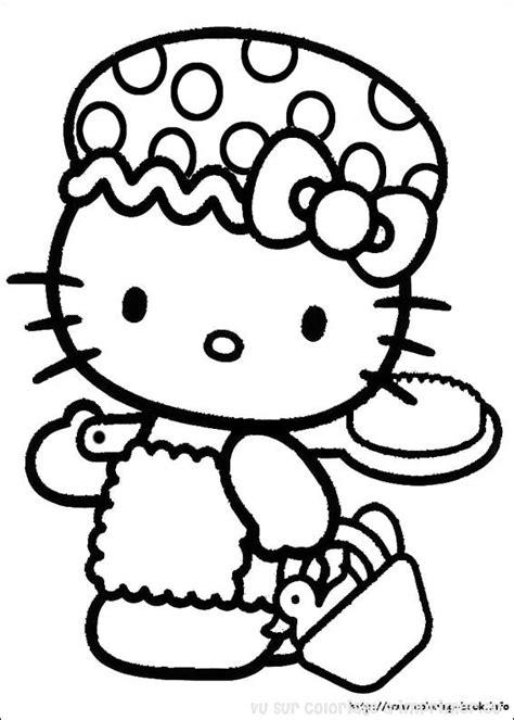 Coloriage hello kitty 224 colorier dessin 224 imprimer