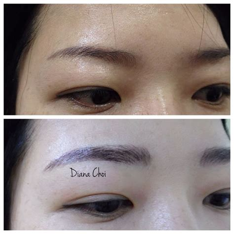 japanese tattoo eyebrow love her brows semipermanent eyebrows tattoo it s the