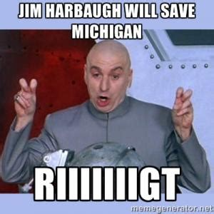 Harbaugh Meme - can t believe topps gave jim harbaugh his own baseball card secrant com