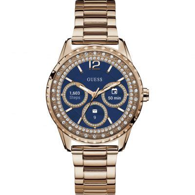 Femmes Guess Connect Android Wear Bluetooth Alarme Chronographe Montre C1003L4