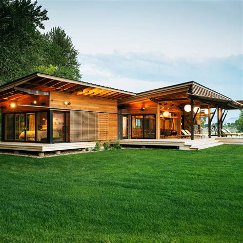 The Ranch House by How To Design Your Own Home Sunset