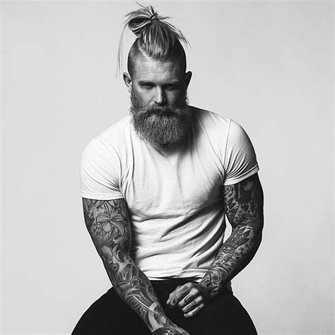 hair cuts to wear with beards 10 best bun hairstyles to wear with your beard beardstyle