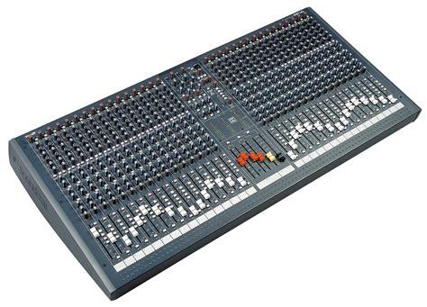 Mixer Lx7 spirit lx7 soundcraft professional audio mixers