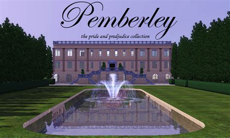 pride and prejudice pemberley mod the sims pemberley the pride prejudice collection