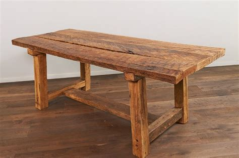 rustic oak kitchen table 2 rustic recycled oak table wood