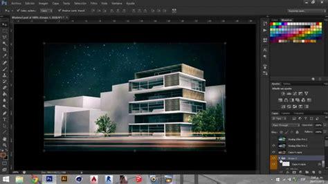 adobe photoshop rendering tutorial postproduccion render photoshop tutorial youtube