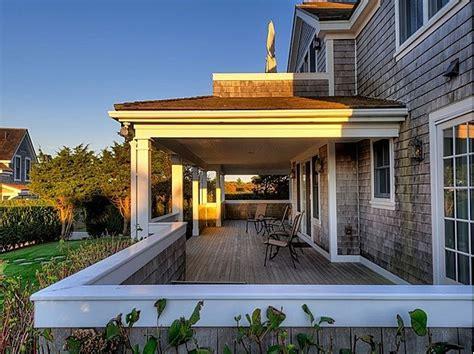 half covered porch dreamy back porch pinterest