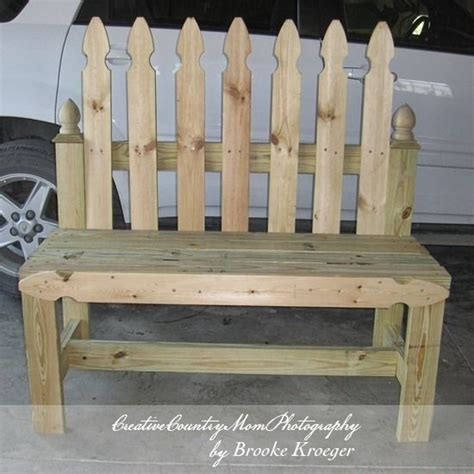 picket fence bench 25 best ideas about lowes creative on pinterest floating deck low deck and lowes