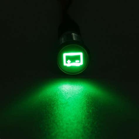 car battery indicator light 8mm 12v led dash panel indicator light car boat