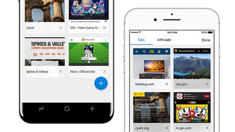 android edge microsoft edge now available on play store