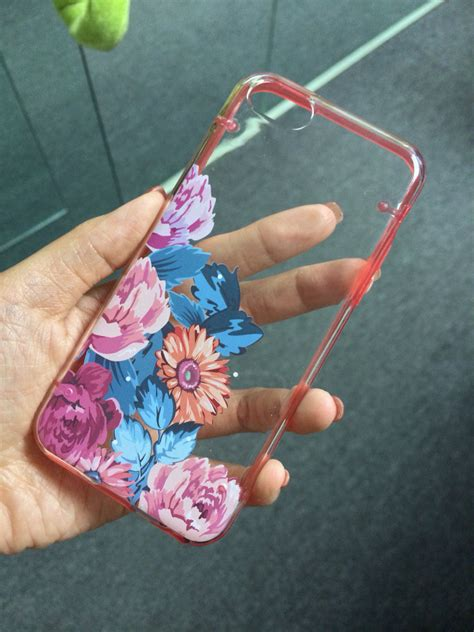 Air 5 Vintage Flowers Emboss Flowers Leather Cover iphone 5c 5s 5 iphone 6 6 plus transparent