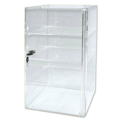Clear Plastic Dresser by Custom Clear Rectangle Acrylic Display Cabinet Pmma