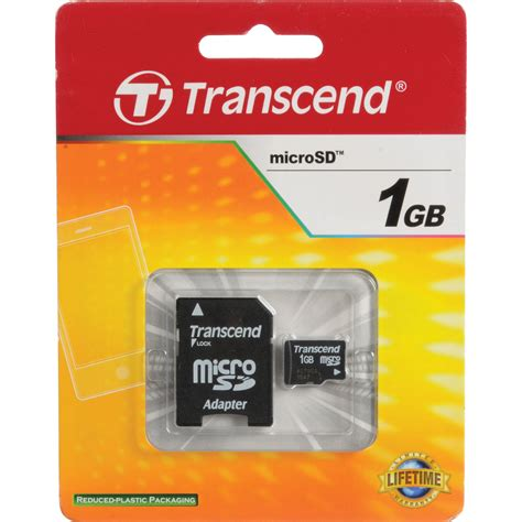 Micro Sd 1gb transcend 1gb microsd memory card with microsd adapter ts1gusd