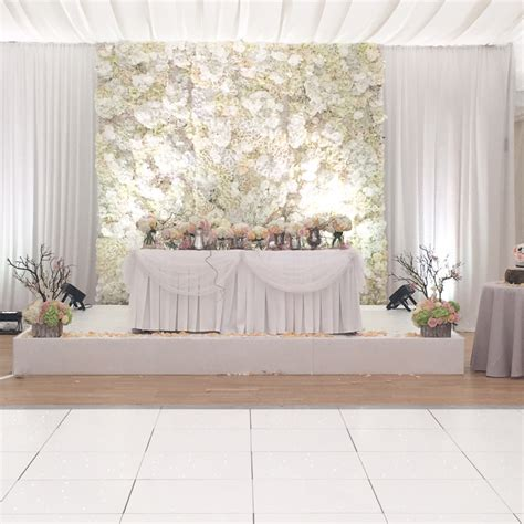 wedding backdrop cost wedding flower wall backdrop hire