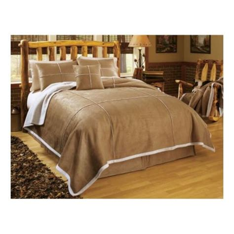 cabela s faux suede shearling comforter set cabela s canada
