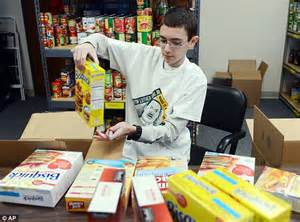 Vernon Township Food Pantry by Obama Celebrates Martin Luther King Day Volunteering At