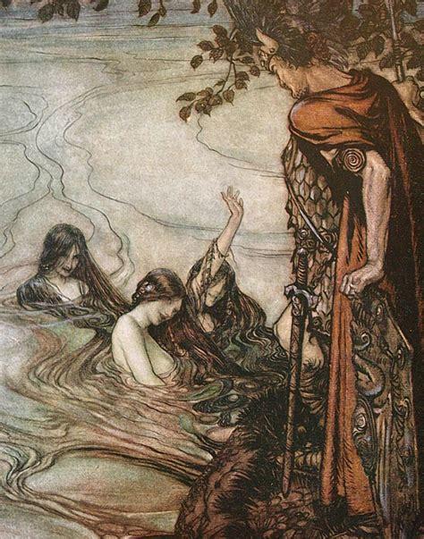 libro women of myth arthur rackham s illustrations to wagner s the ring of the nibelung arthur rackham at art