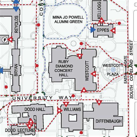 fsu map fsu unveils cus accessibility map florida state news