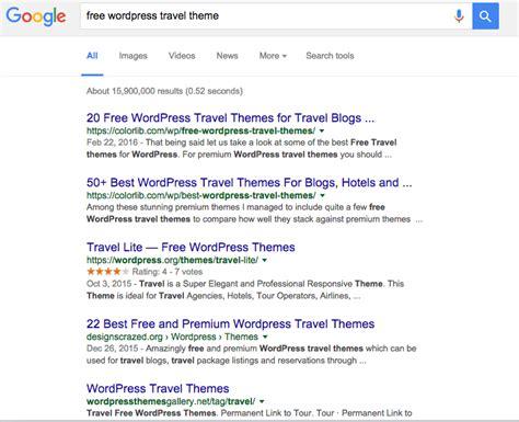 cara membuat website travel agent gratis cara membuat blog wordpress dengan theme gratis