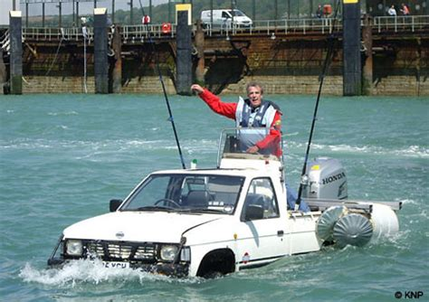 coastguards fury as top gear stars attempt to drive - Boat Car Top Gear