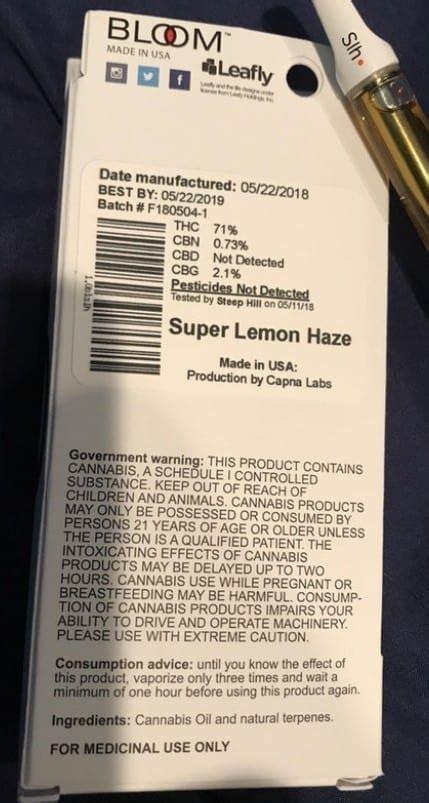 thc oil  vape cartridge tests pesticides  strength