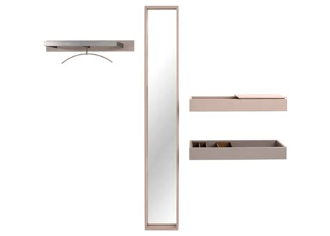 Mirror And Coat Rack by Schoenbuch Hesperide Coat Rack Mirror Shelf