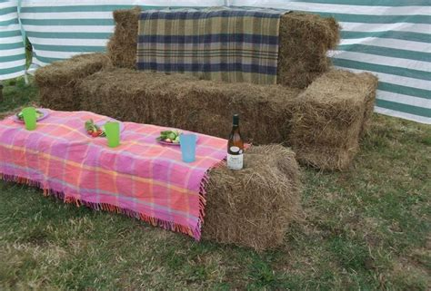hay bale sofa hay bale sofa by party bales josie wed decor pinterest