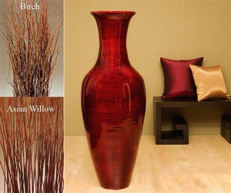 Big Flower Vases by Home Design Tips Decoration Ideas