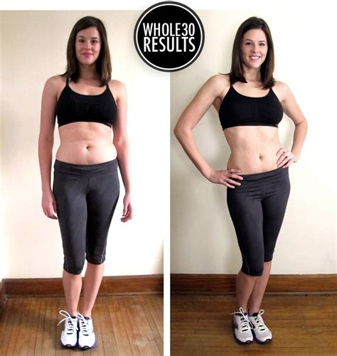 challenge before and after the whole 30 challenge review on what i wore