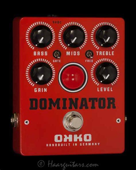 Dominator Mkii Okko Pedal haarguitars and parts dominator haarguitars and parts