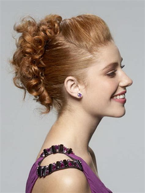 homecoming hairstyles curly updos prom hairstyles curly updos