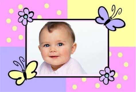 decorar fotos de bebes gratis marcos para decorar fotos gratis online imagui