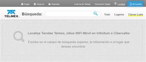 Lada Telmex Consulta Las Claves Lada Telmex