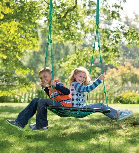 hearthsong swing deluxe platform swing hearthsong tree swings pinterest