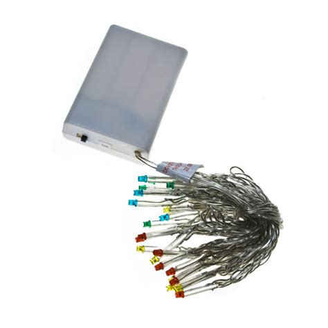 noma 1 9m length of 25 multi coloured indoor static led