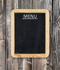 Empty Menu Templates by 25 Menu Board Templates Free Sle Exle Format