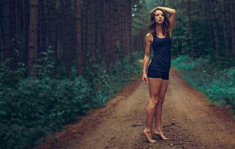 Roadmap To Beautiful Legs by Wallpaper Road Forest Legs Beautiful Barefoot