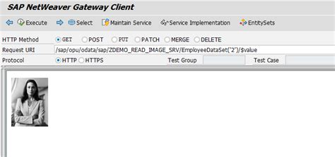 tutorial sap netweaver gateway get employee image through sap netweaver gateway sap