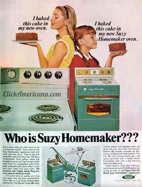 who is suzy homemaker 1966 click americana