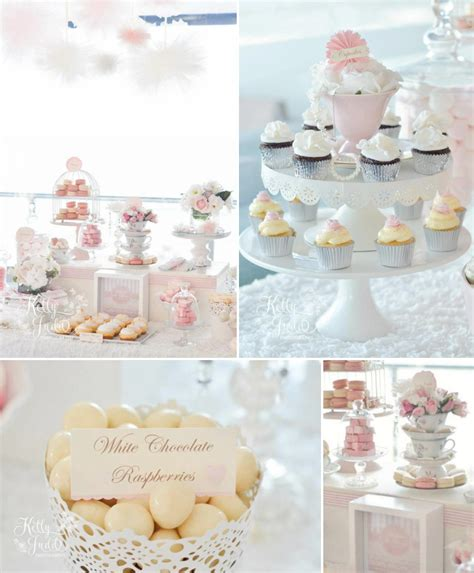 Table Shower Meaning by Kara S Ideas Pretty Pink Vintage Wedding