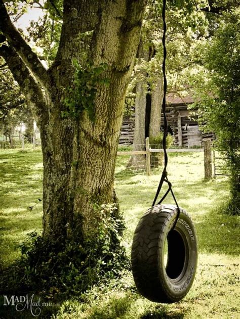 best rope for tire swing tire swing my dream house pinterest